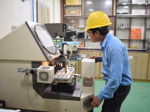 Quality Control Inspector in Engineering Industry