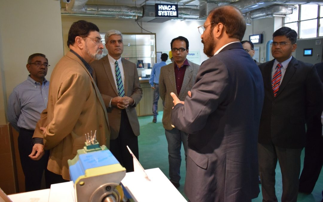 Millat Group of Companies Chairman Visit