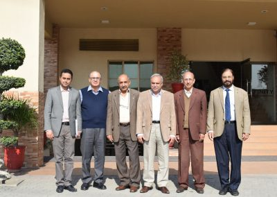 Board Members Punjab Vocational Training Council (PVTC) Visit to Infinity School of Engineering