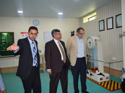 Director Agriculture Engineering Sindh Hyderabad Visit To Infinity School of Engineering