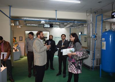 Chairman PAAPAM, Chairman Woman Chamber of Commerce and Industries with GIZ Visit to Infinity School of Engineering