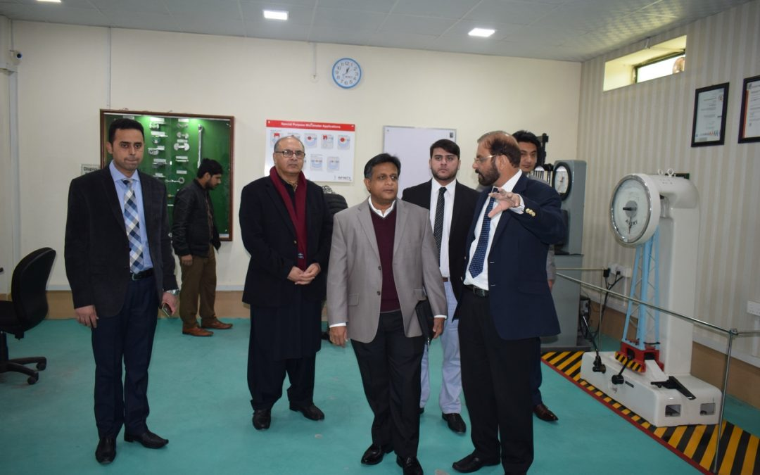 Mr.Danesh Abeyawickrama Joint Managing Director, Skills International and City and Guilds Visit to ISE