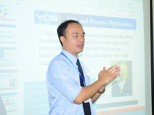 YCM Taiwan Deligate Visited ISE and Trained the Staff