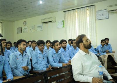Motivational Session by International Speaker Kamran Ahmed Siddiqui for ISE Students