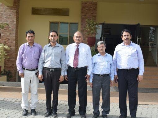 Delegate from PIA visited ISE for the Training of Staff