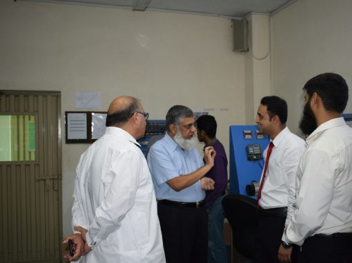 Senior Member of Pakistan Pharmacist Association Visit ISE