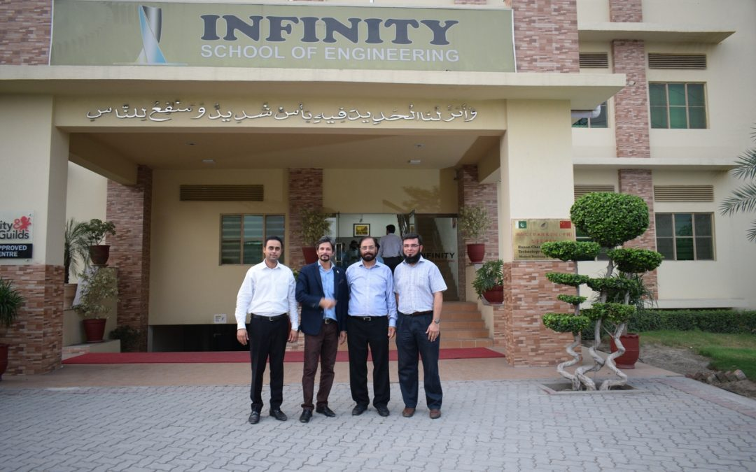 A delegate Indutry and Academia Linkage from Lahore Chamber of Commerce and Industry Visited ISE
