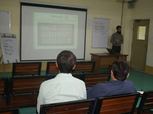 Training of TEVTA teachers with the cooperation of GIZ at Infinity School of Engineering