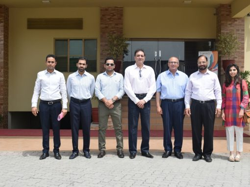 Mr. Jawad Khan Chief Executive Officer Punjab Skills Development Fund  Visited Infinity School of Engineering