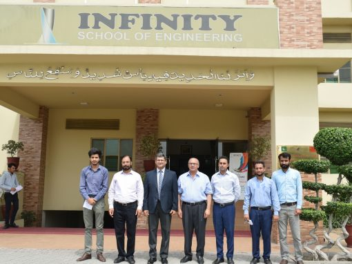 Director General NAVTTC Visited Infinity School of Engineering
