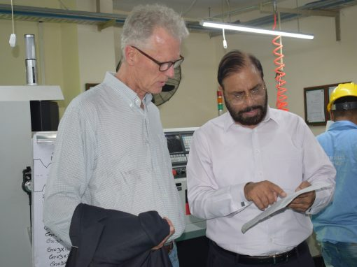 Mr. Gerrit Ribbink from Enclude Netherlands Visited Infinity School of Engineering