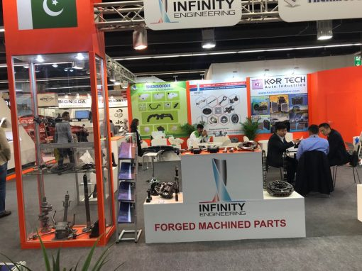 Infinity Engineering Pvt. Ltd Participated in Automechanicka Frankfurt Germany