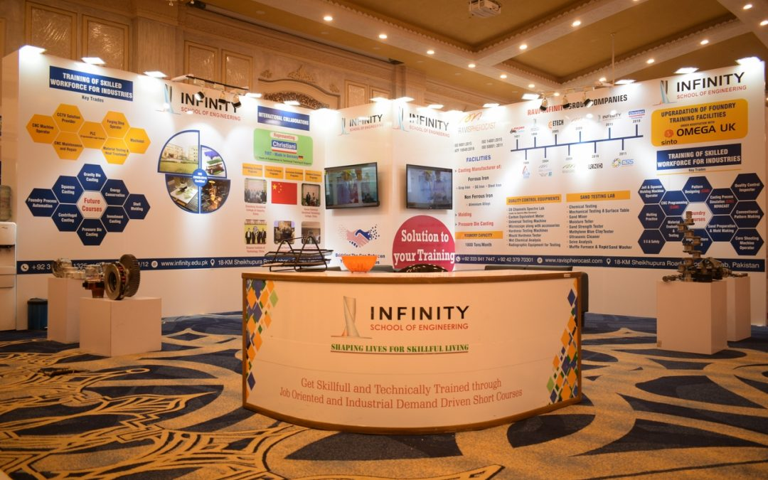 Infinity School of Engineering participated in 7th International Foundry Congress and Exhibition (IFCE)