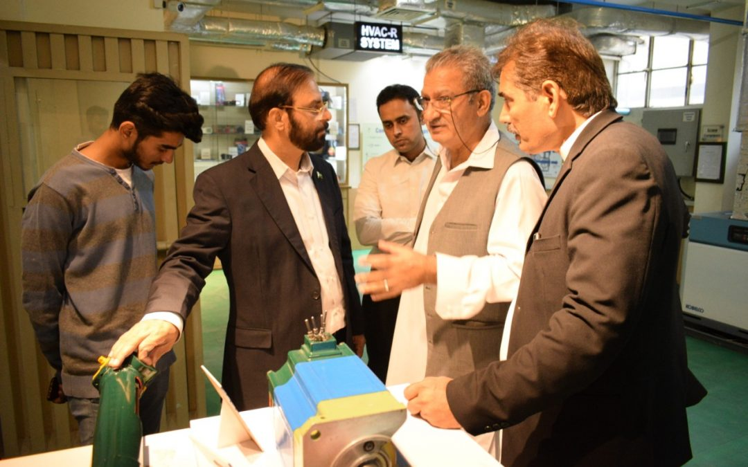 CEO Ahmad corporation visited ISE