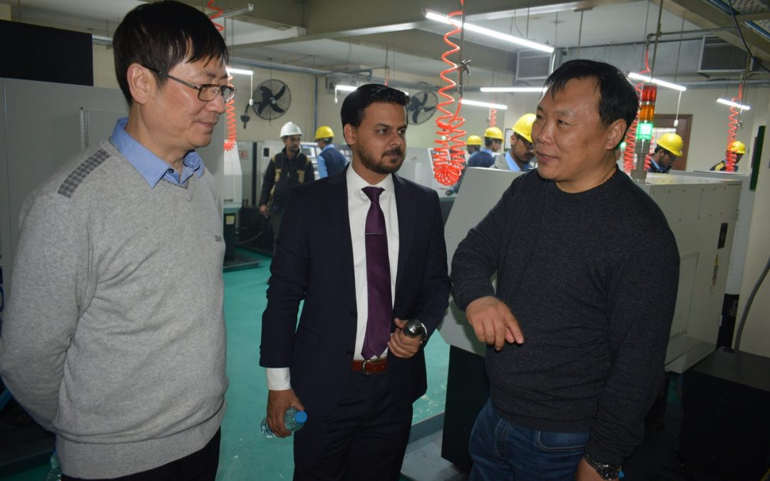 Mr. Xu from China visited Infinity School of Engineering