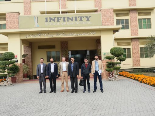 Chairman Qadri group of Companies and Country Head PUM Netherlands visited ISE