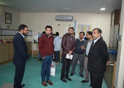 Head of Departments (HODs) from MUGHAL STEEL visited Infinity School of Engineering