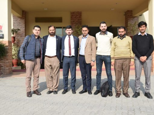 Management from Cukurova Kimya, Turkey visited Infinity School of Engineering