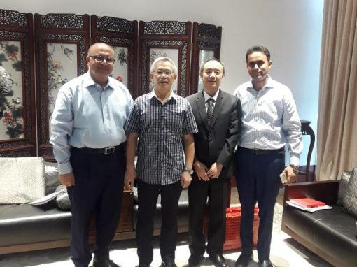 Meeting of ISE Management with Cultural Counsellor of Chinese Embassy